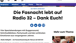 Schnitzelbänke 2021 auf Radio 32
