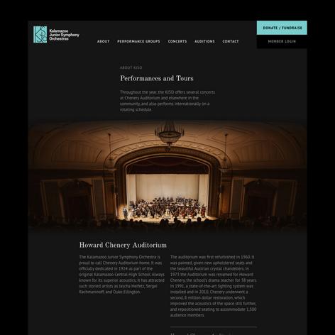 Kalamazoo Junior Symphony Orchestra