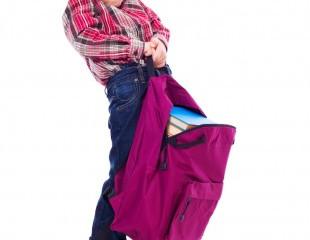 Qual é o peso máximo recomendado para as mochilas das crianças?