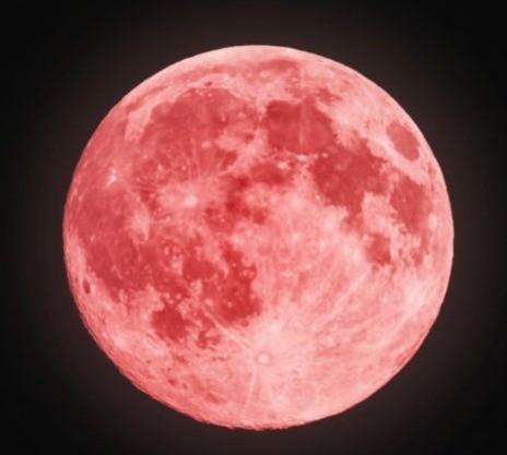 Lua de Wesak, a lua da iluminação de Buda, lua rosa, lua cheia, lua em escorpião