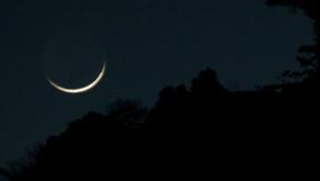 O último dia da lua minguante