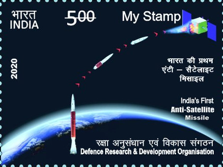 India's ASAT Stamp; India's Private Space Sector Efforts