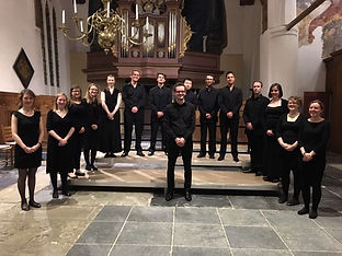 Choir on tour in the Netherlands