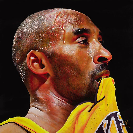 MAMBA FOREVER Lifesize on canvas - Collection of 24