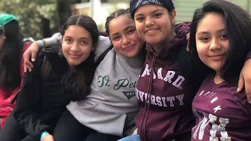 St. Peter's Catholic School reflects on their week at Caritas Creek