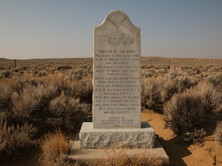 Wandering WY: The Parting of the Ways
