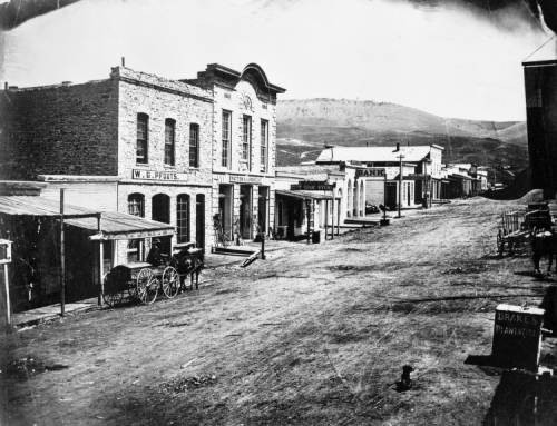 Virginia City, Montana, Historic Town