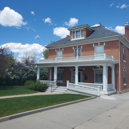 Wandering WY: The Historic Bishop House