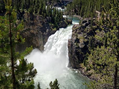 Wandering WY: Yellowstone National Park Waterfalls