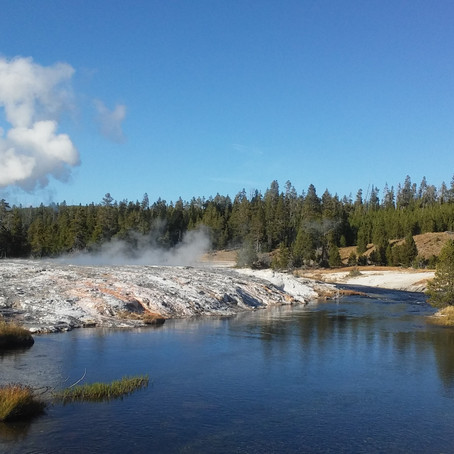 Then & Now: Visiting Yellowstone National Park