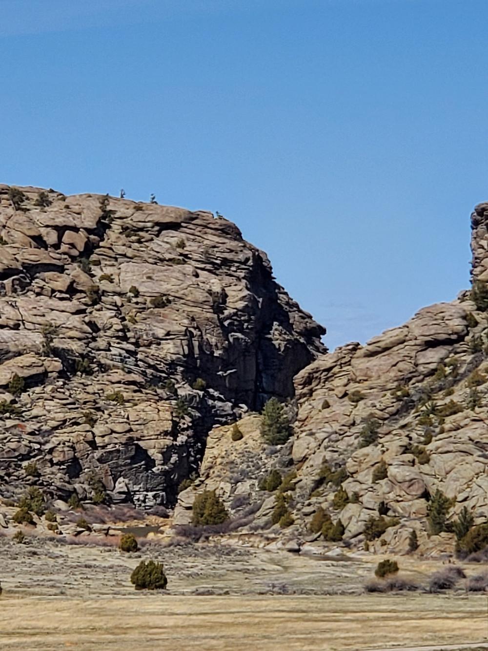 Devil's Gate, Oregon Trail, Mormon Handcart Trail, Wyoming
