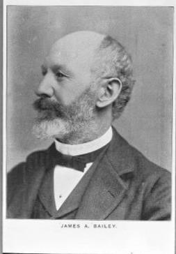 James A. Bailey, ca. 1895. MS228 Buffalo Bill Museum Photographs Collection. PN.228.199