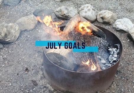 lilmissbearpaw July Goals