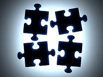 Puzzle Pieces noir