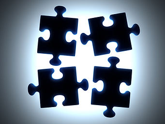 Black Puzzle Pieces