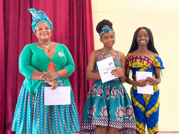 Winners of Fashion Competition