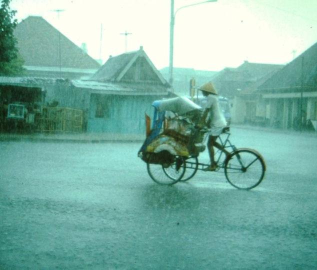 der Regen lässt nicht nach