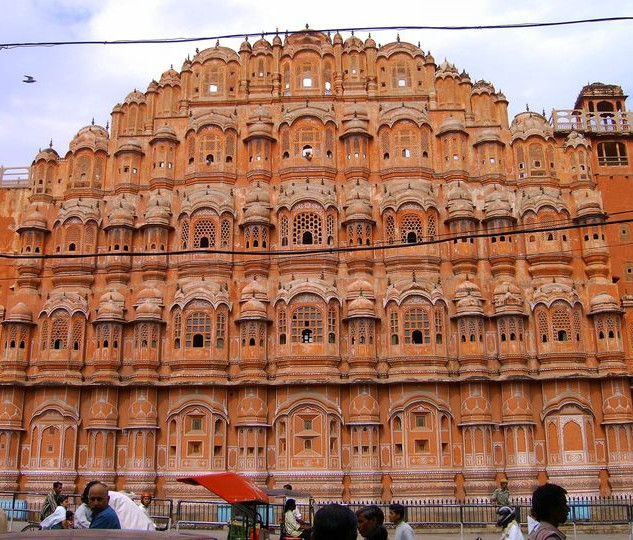 """Hawa Mahal"" Der Palast der Winde - Jaipur - Rajasthan - Indien"