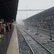 Unsere Heimfahrt verzögert sich wegen des andauernden Regens