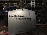 Lappen, Brigitte, wo ist der Lappen?