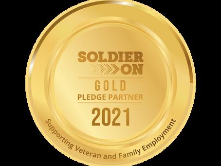 Soldier On - Gold Pledge Partner 2021