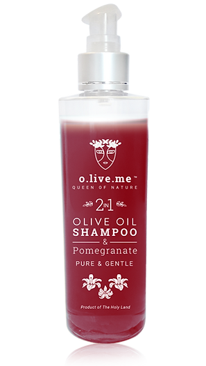 Shampoo with pomegranate
