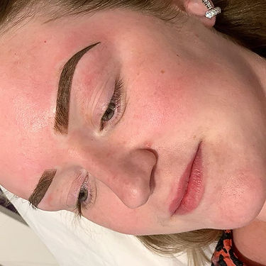 Stunning brows for stunning lady 💕✔️ ✔️