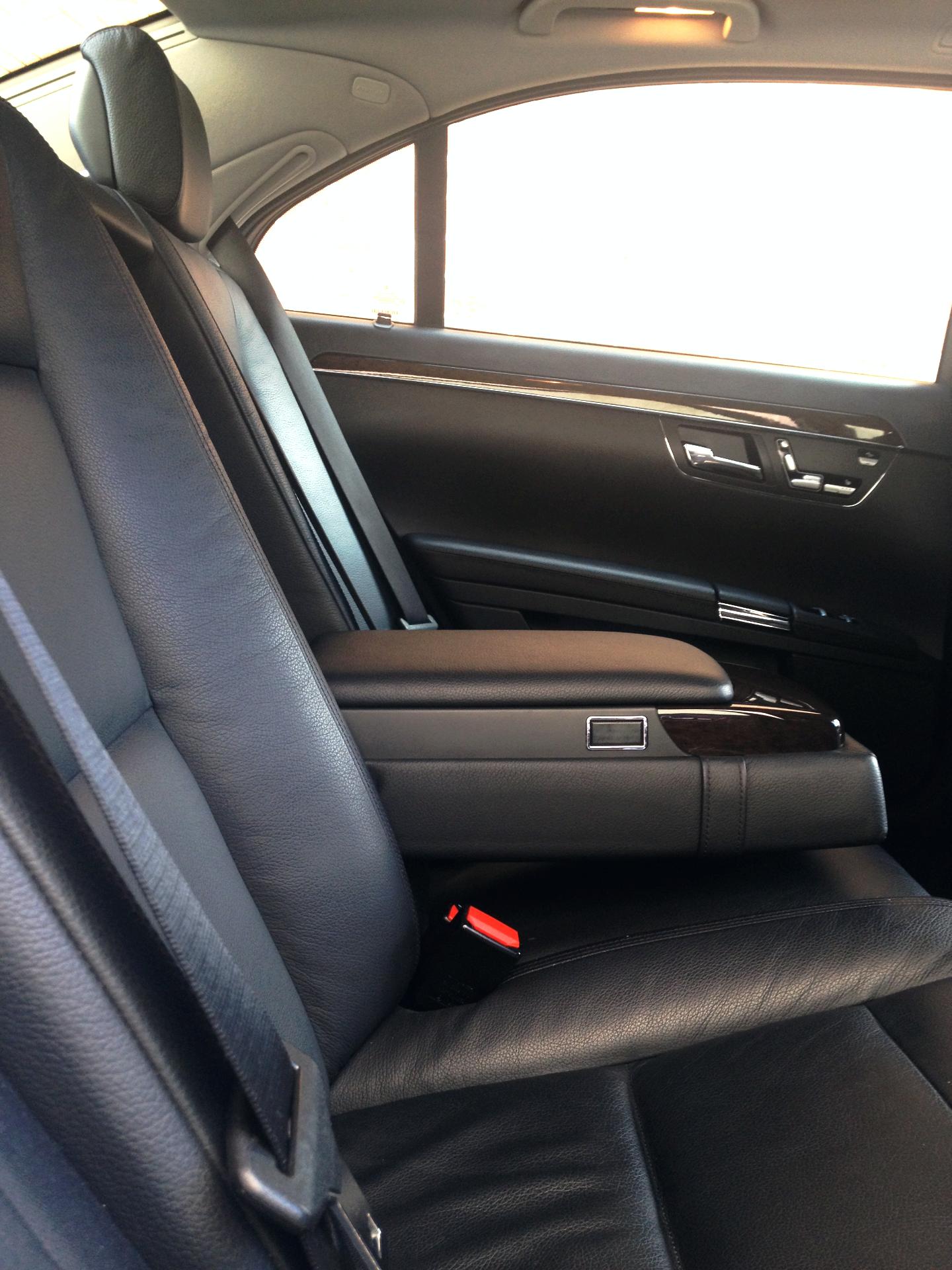 Rear seats Mercedes S Class