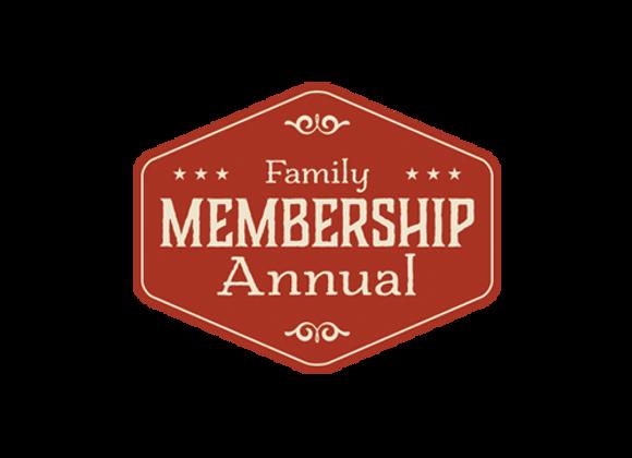 1 Year Family Volunteer Membership