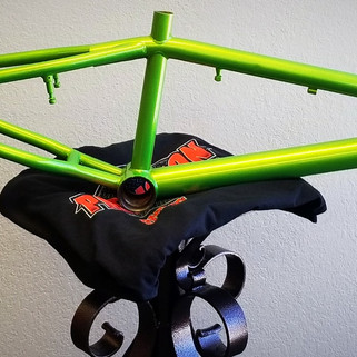 Illusion Sour Apple Bike Frame