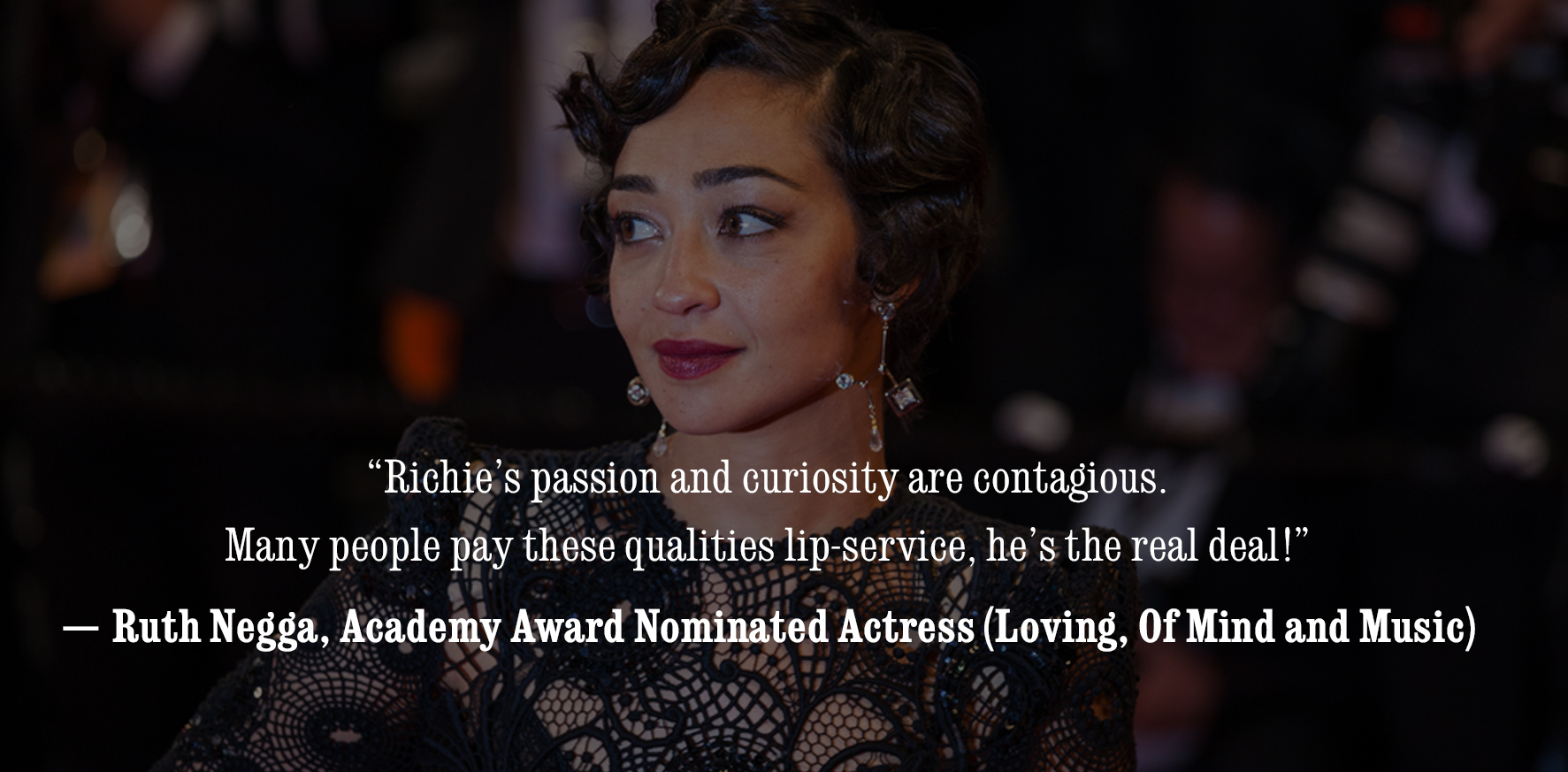 Ruth Negga Quote