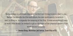 James Gray - Quote