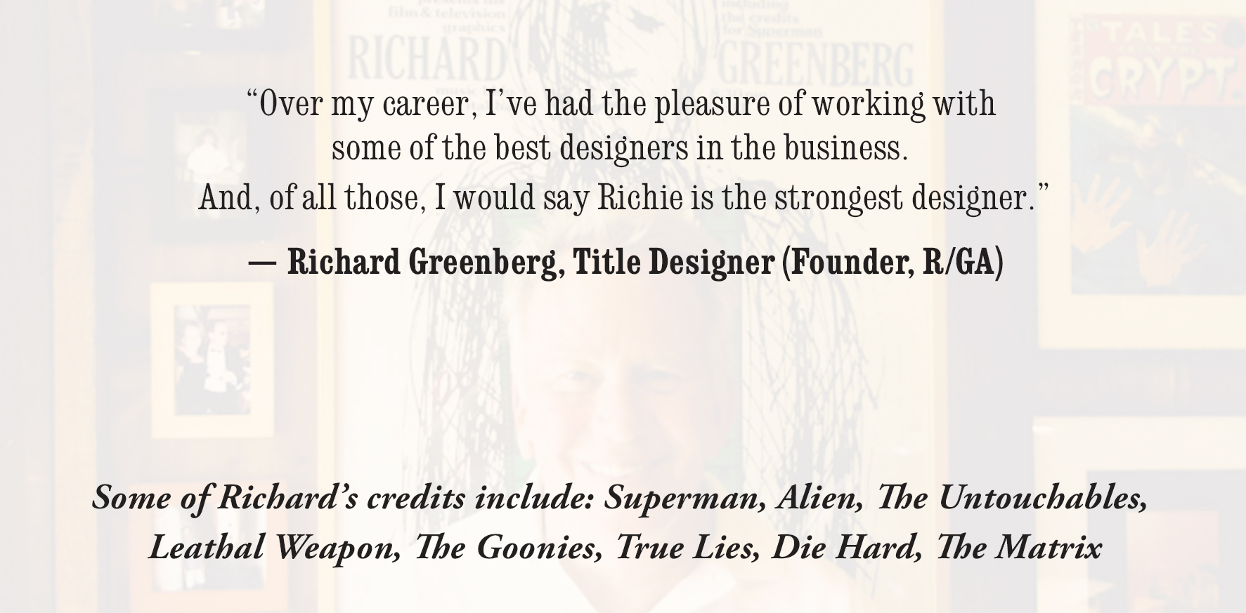 Richard Greenberg - Quote