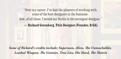Richard Greenberg - Quote
