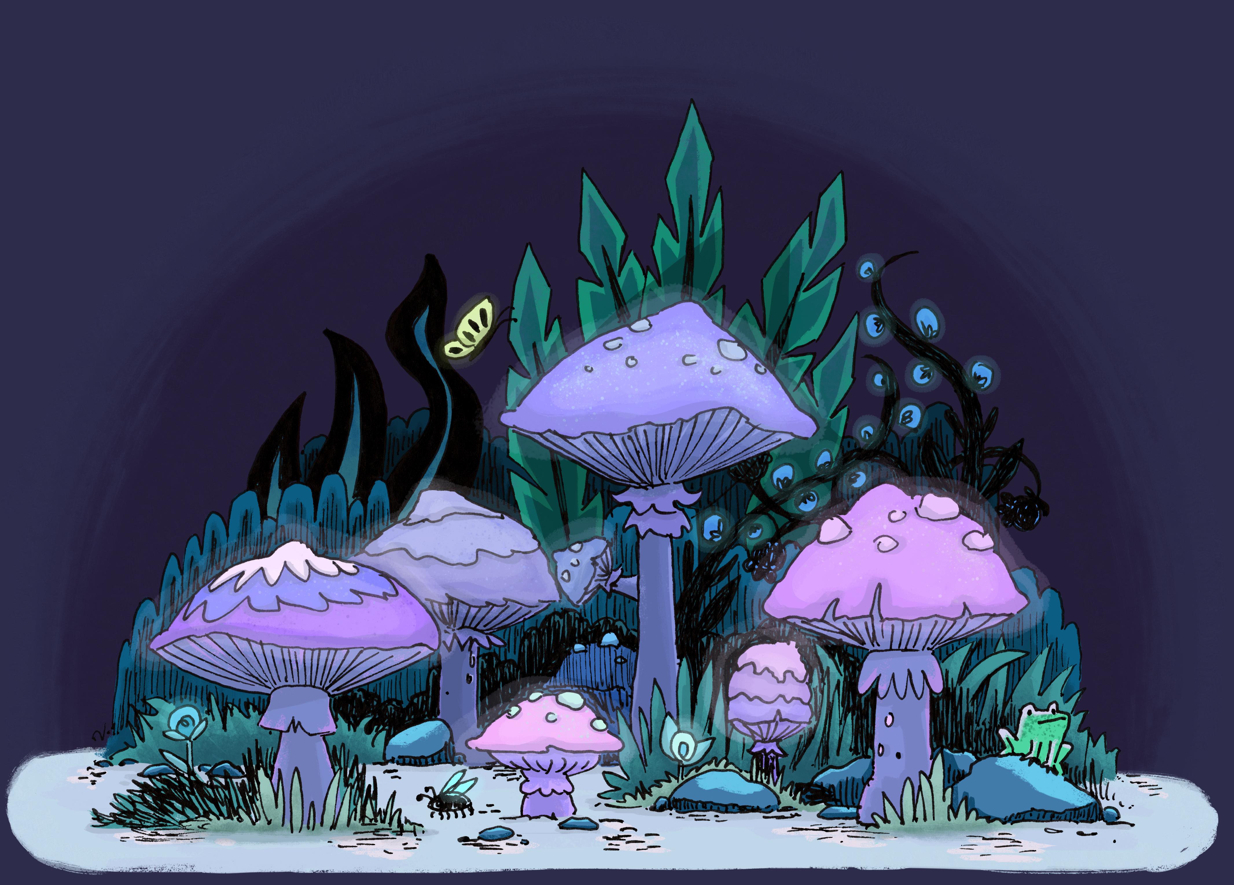 Mushroom Cluster- personal