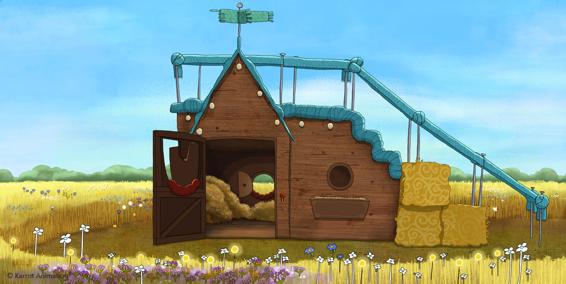 Sarah & Duck- Donkey's Shed
