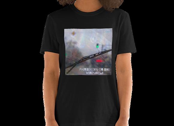 Paintdrops on the Windsheilds Short-Sleeve Unisex T-Shirt