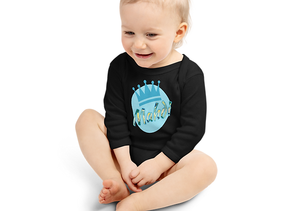 Mahdi Infant Long Sleeve Bodysuit