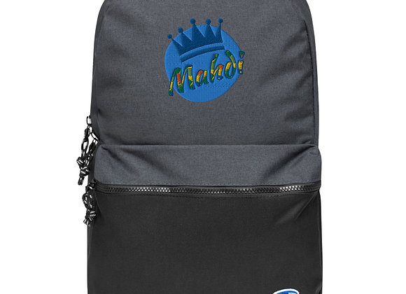 Mahdi Embroidered Champion Backpack