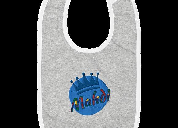 Mahdi Embroidered Baby Bib