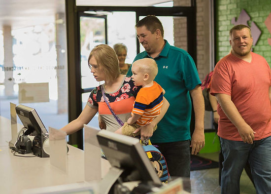 Securely check-in children to Oakwood Kids