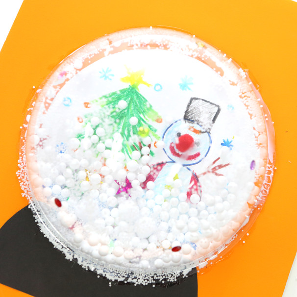 펑펑 눈이 내려요! 눈사람 스노우볼