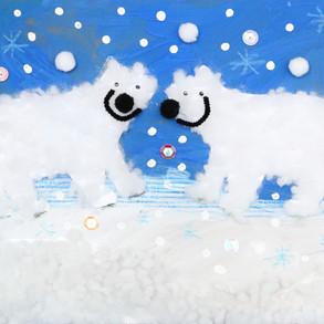 복실복실 북극곰