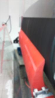 Poliuretanski brisalec transportnih trkov PUR-F3