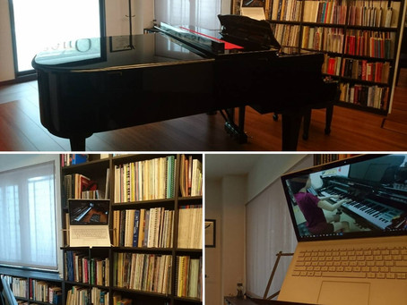 Weekly online piano lessons