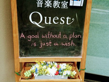 A goal without a plan is..