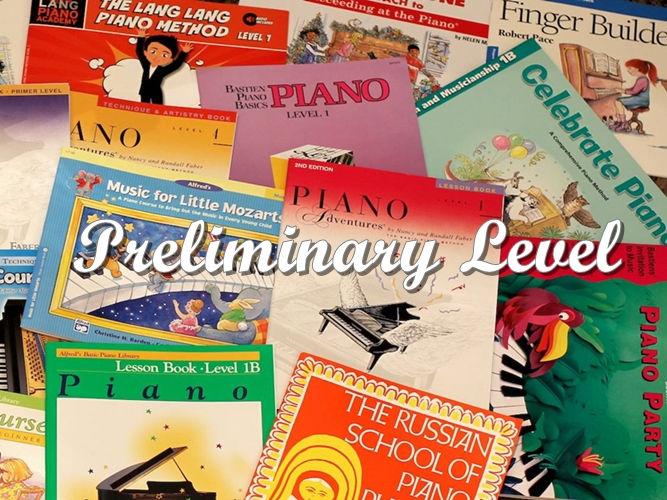 Piano - Preliminary Level