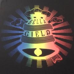 Bella Cielo Split fountain Tote bags