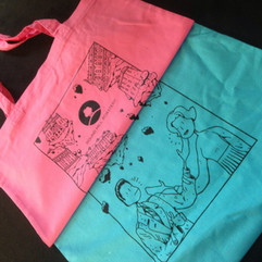promotional tote bags for Round Hill Roastery