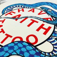 Have Faith Tattoo